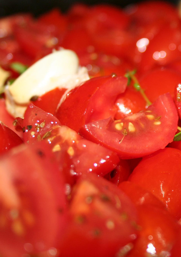 Tomatoes will always be a part of my workshops, there is no knowing what dish will those be at the end of the workshop