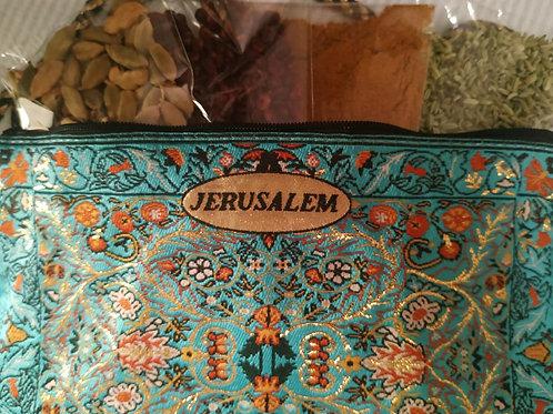 Jerusalem Bag with 4 Spices