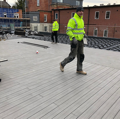 Large Decking almost complete