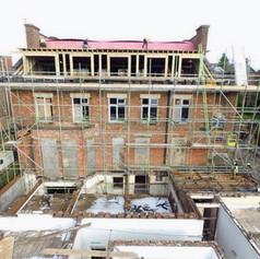 Large building work