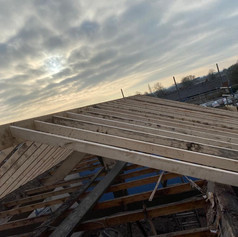 New Roof Structure