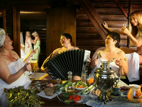 8 марта в бане Чапаевская Тольятти