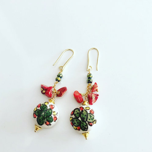 Handmade Sicilian Earrings