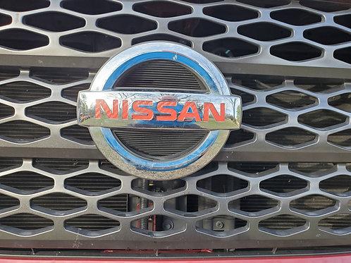 """Nissan Titan Grill/Tailgate Badge Emblem Inlay """"NISSAN"""""""