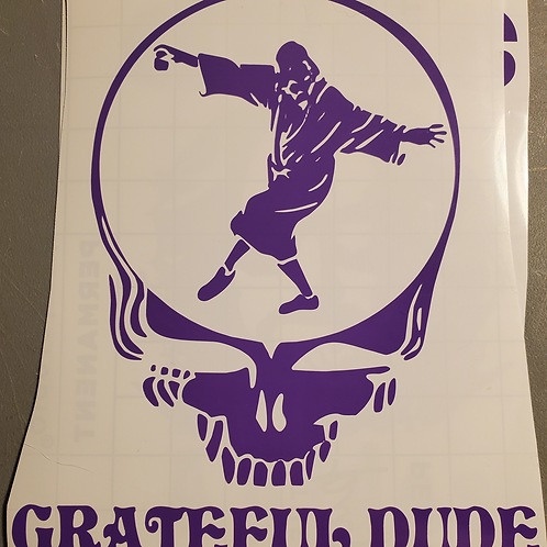 Grateful Dude The Big Lebowski Decal