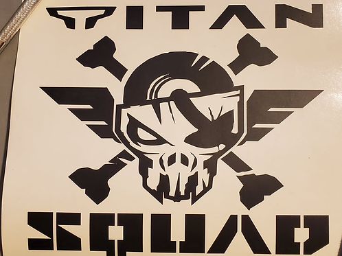 OFFICIAL Titan Squad Group Decal