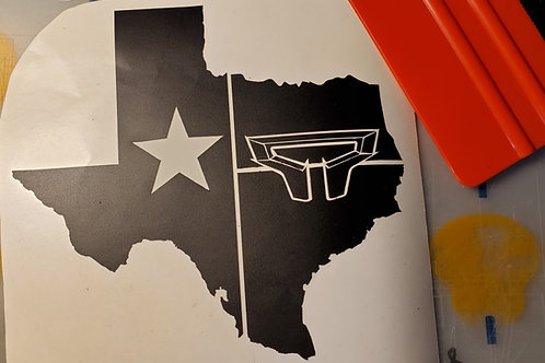 OFFICIAL Titan XDs of Texas Group Decal