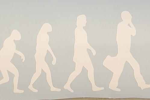 The Big Lebowski The Dude Evolution Darwin Decal