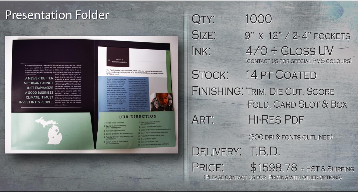 K2 - Presentation Folder Special