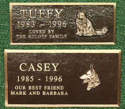 Pet Memorial Plaque 5