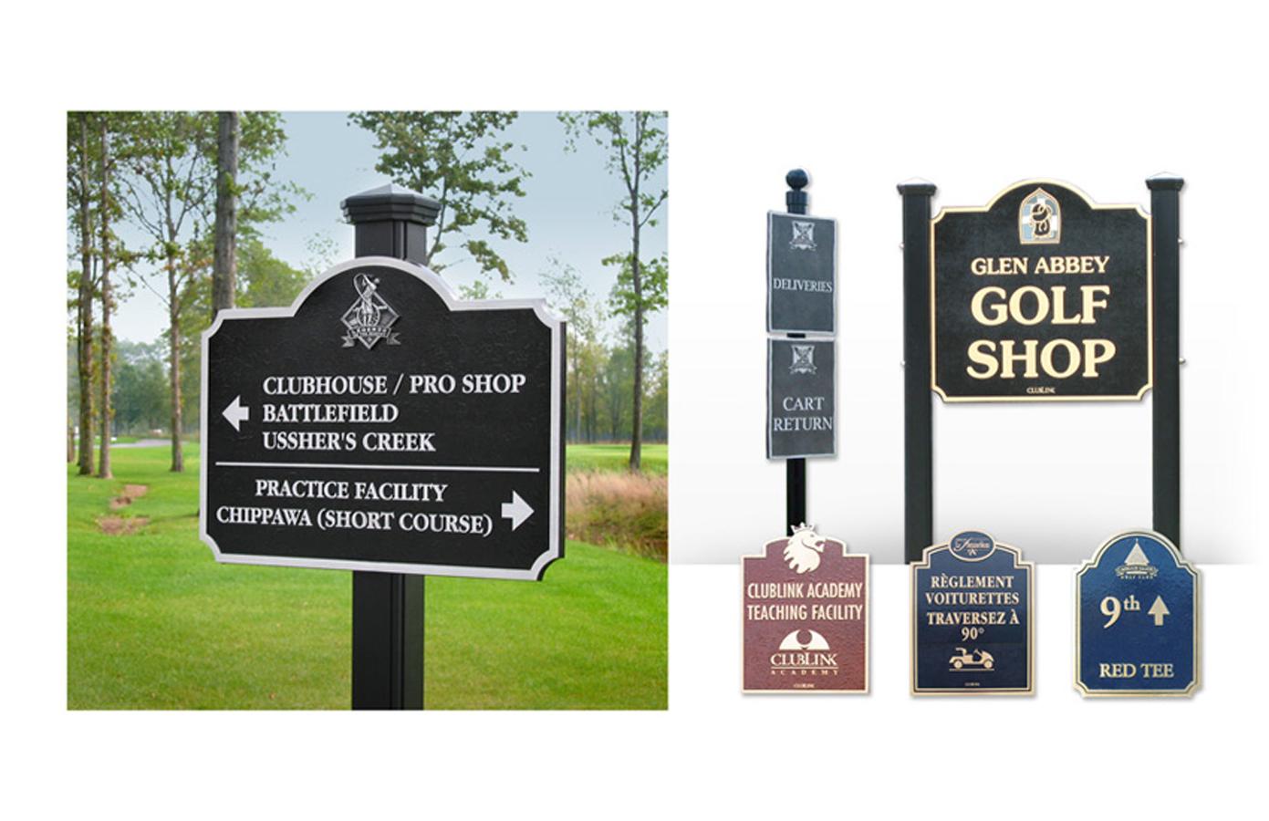golf signs 2