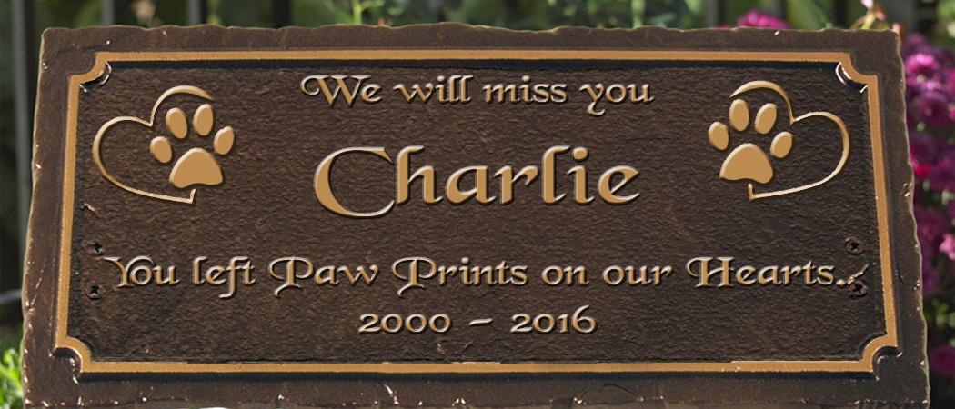 Dog Memorial Sign 1