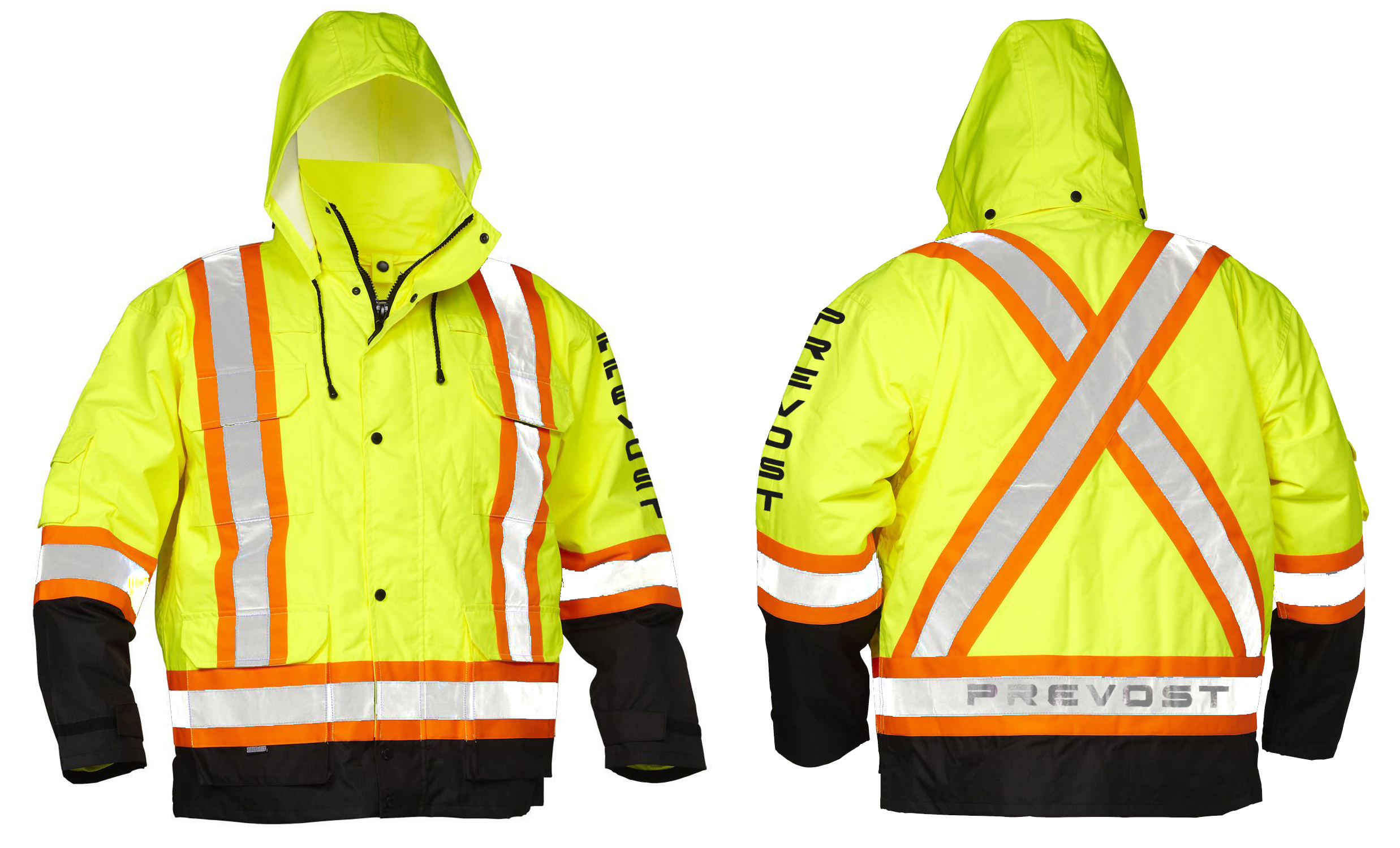 Reflective 4 in 1 Safety Jacket