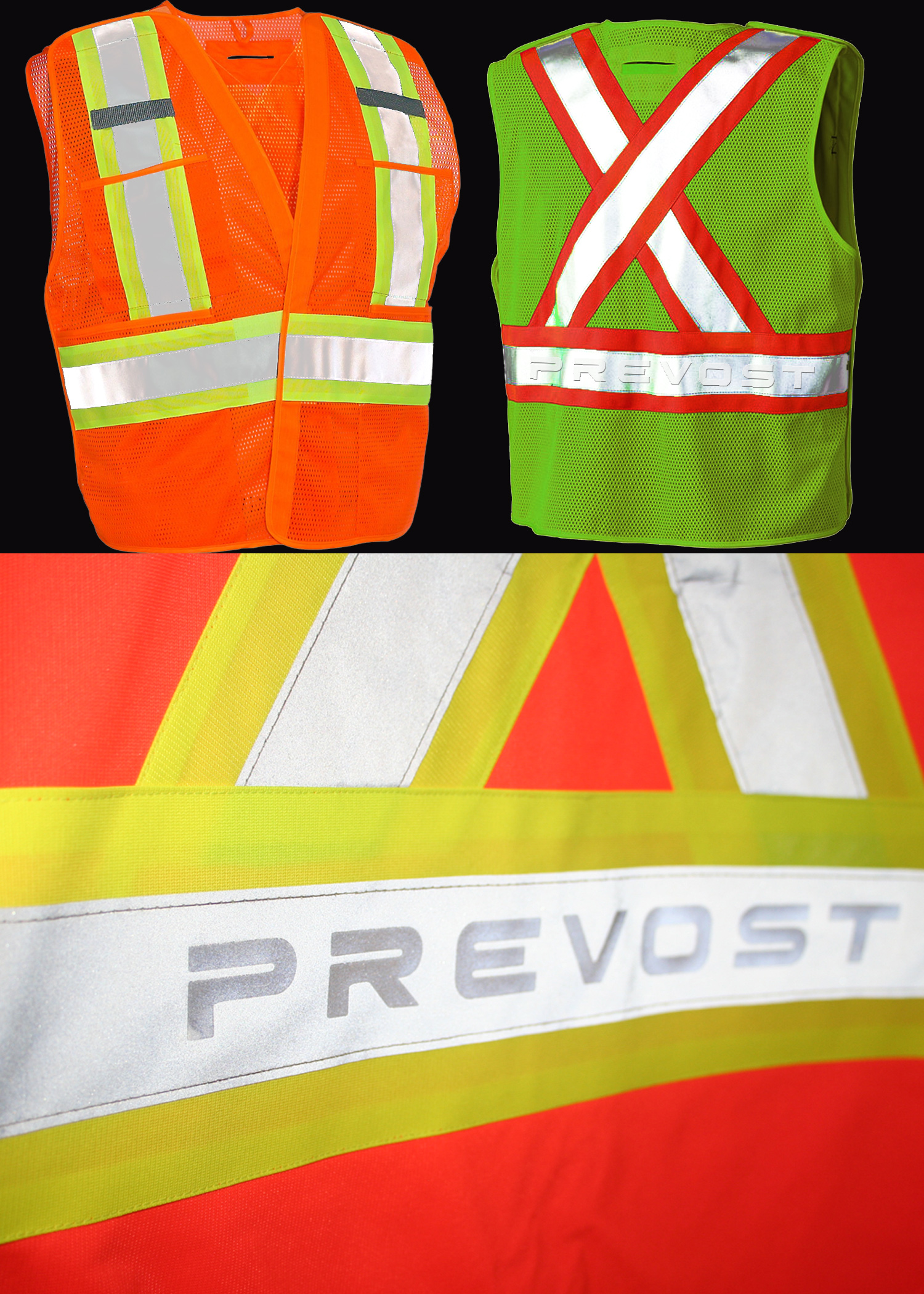 5 Point Tear-away Safety Vest