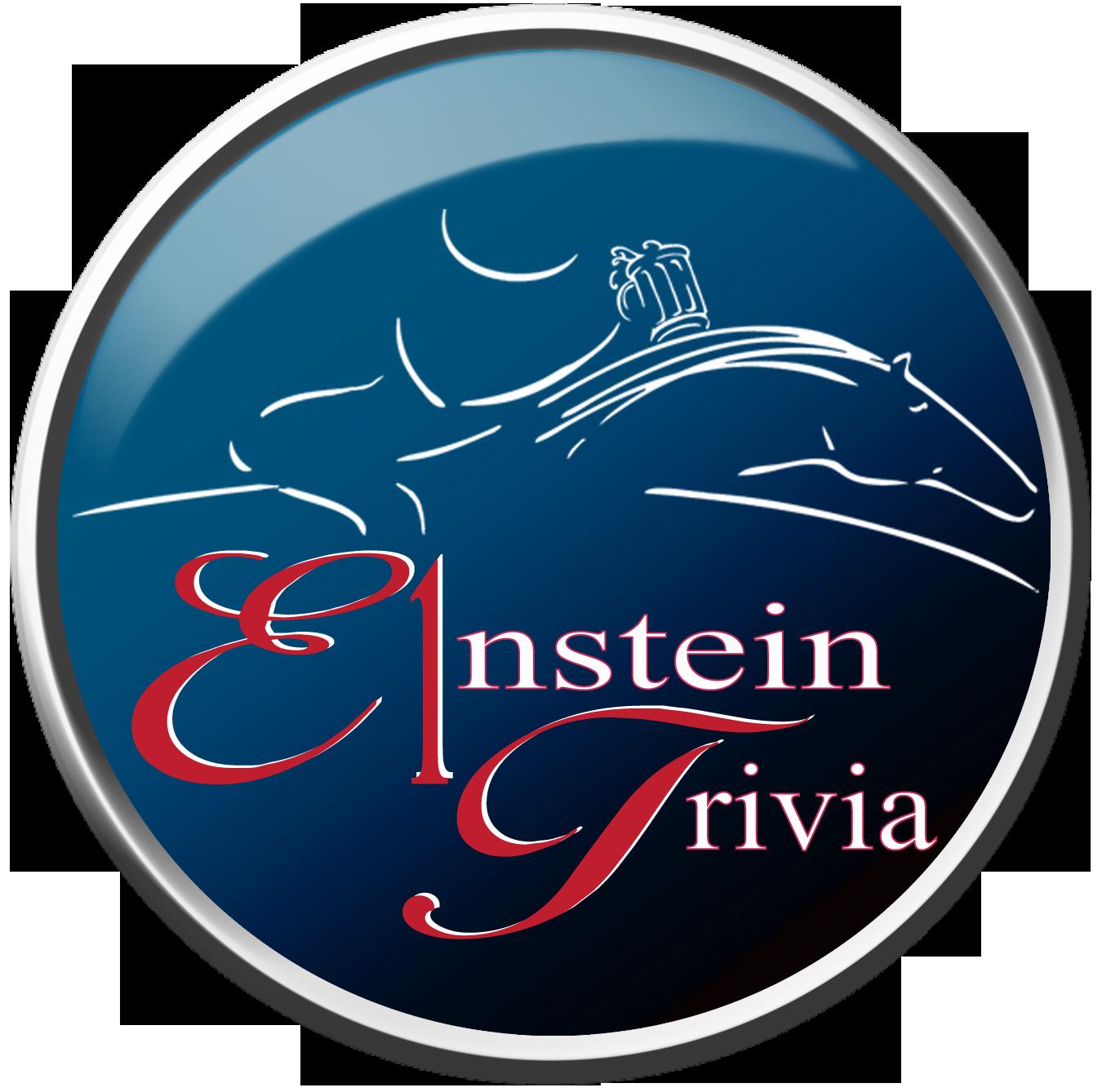 E1nStein Pub Trivia Logo & App