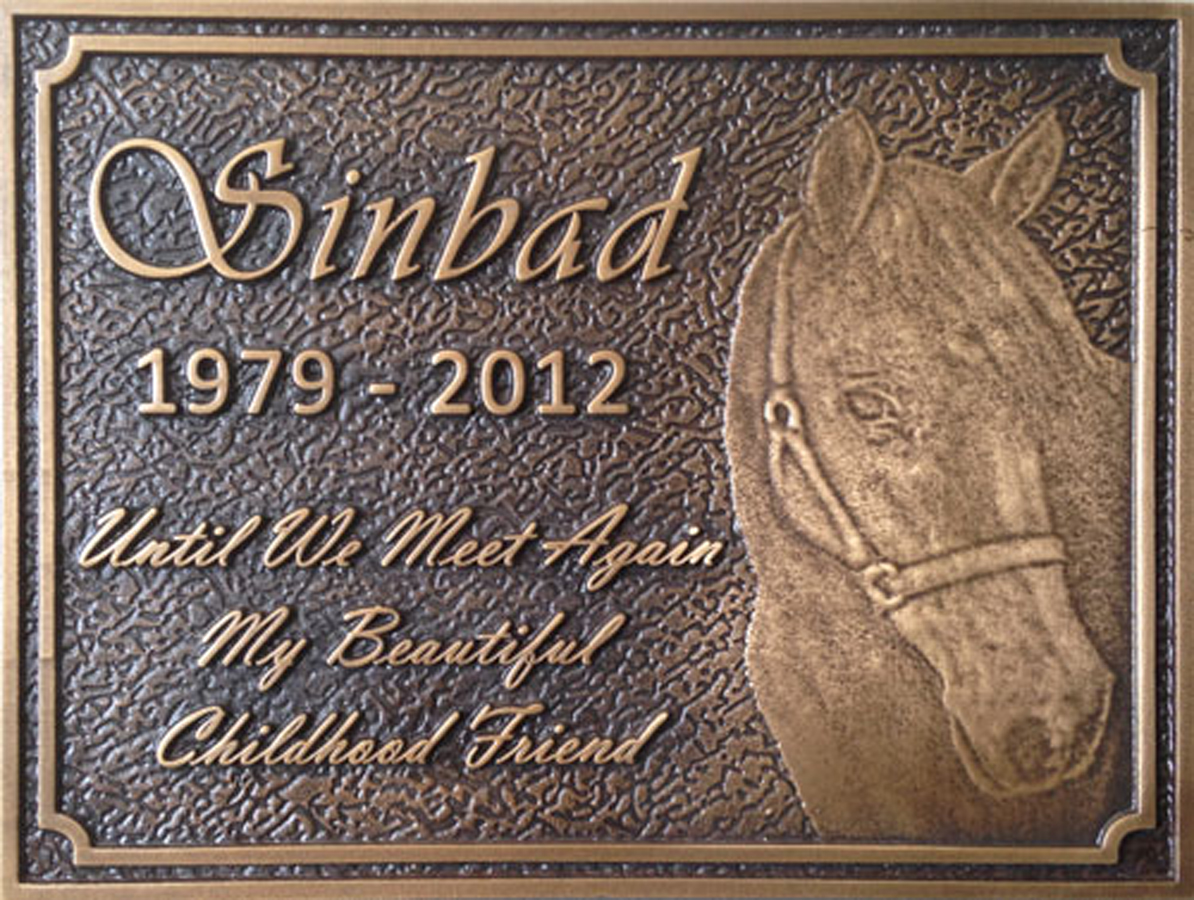 Pet Memorial Plaque 2