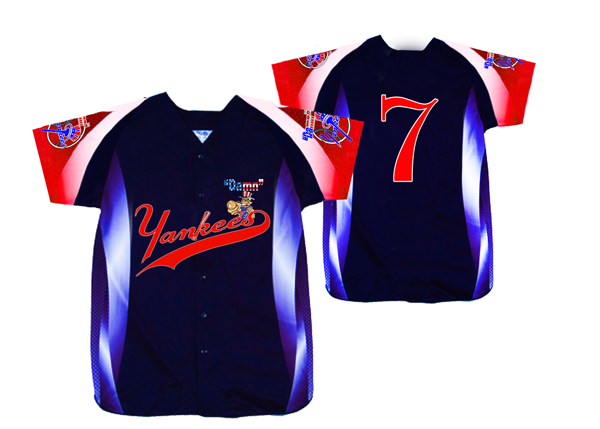Damn Yankee Sublimated Baseball Jersey.jpg