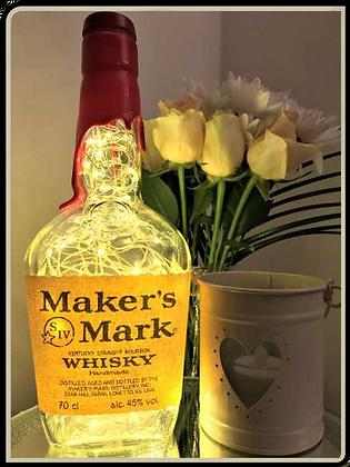 Makers Mark Whisky Bottle