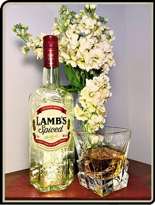 Lambs Spiced Rum Bottle