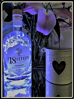 Eighteen Gin Bottle