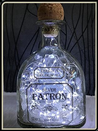 Silver Patron Bottle