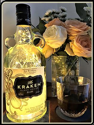 Kraken Rum Bottle