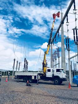 Cesto Isolado 138 kV
