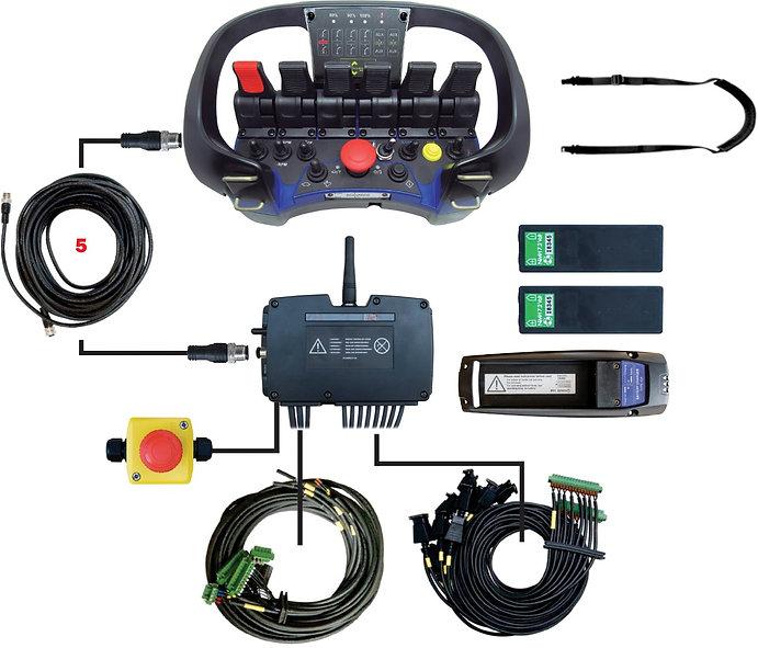 Adequação rádio controle