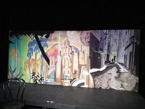 Strange Worlds Mural Triptych
