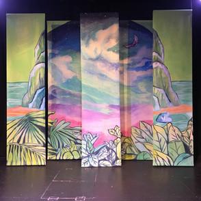 Neverland Giant Backdrop