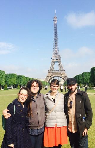 Parallelogramophonograph in Paris