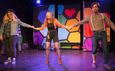 Theatresports Game Show Set