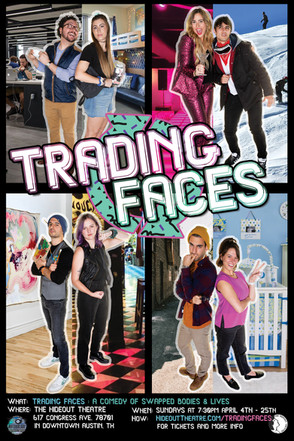 Trading Faces Poster 2020