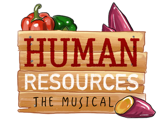 Human Resources The Musical Illustrated Logo