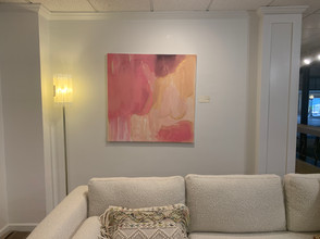 Large Color Abstract in Home [FOR SALE]