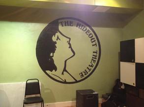 Simple Logo Mural