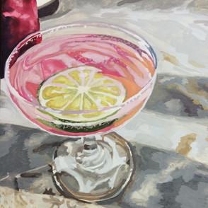Gouache Cocktail Commission
