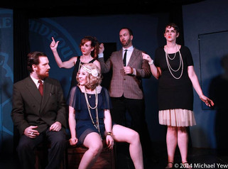 Zelda Fitzgerald in F. Scott & Zelda Fitzgerald Save The World! (Improv)