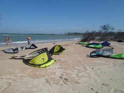 Kite na Praia do Macapa-Pi