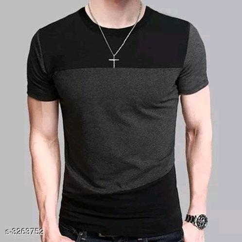 Eva Cotton Solid Men's T-shirts