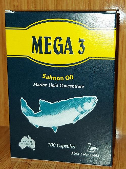 Mega 3 capsules 100's
