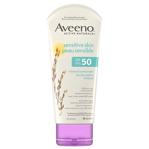Aveeno Sunscreen SPF-50