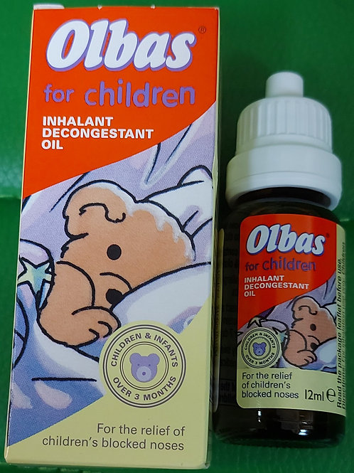 Olbas decongestant oil for children