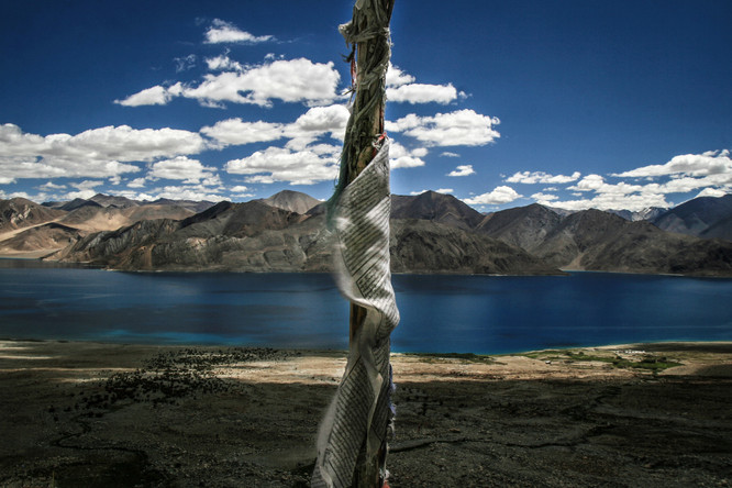 Pangong Tso Lake, India, 2006