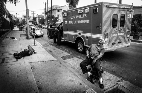 Sunset Blvd, Los Angeles, 2012