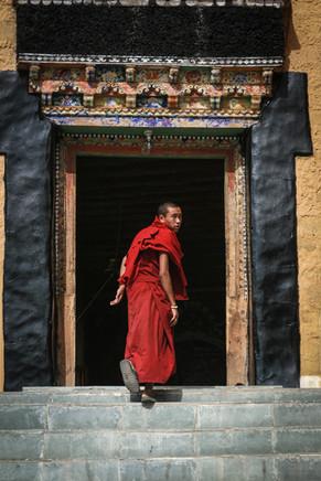Thiksey monastery, Ladakh, India, 2006