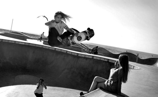 Venice skate park, California, 2017
