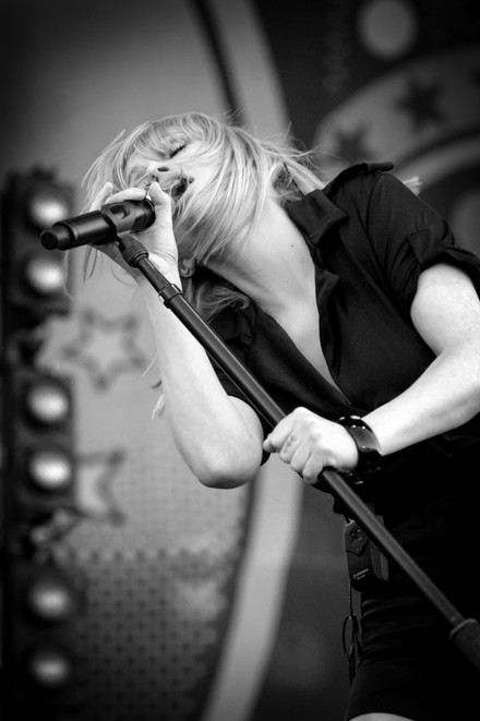 Goldfrapp, Isle of Wight, 2006