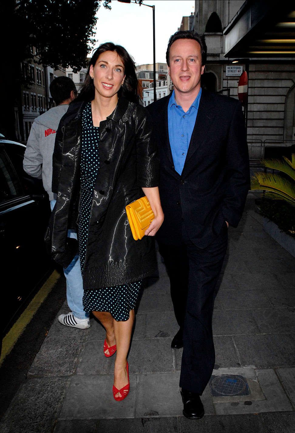 David & Samantha Cameron
