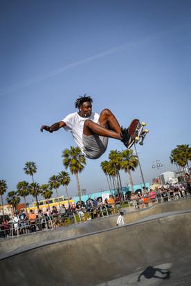 Venice skate park, California, 2018